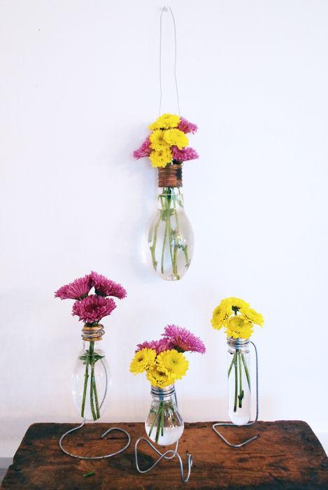 Своими руками вазочки из всего