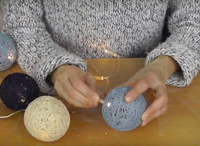 шар из ниток для гирлянды (4)
