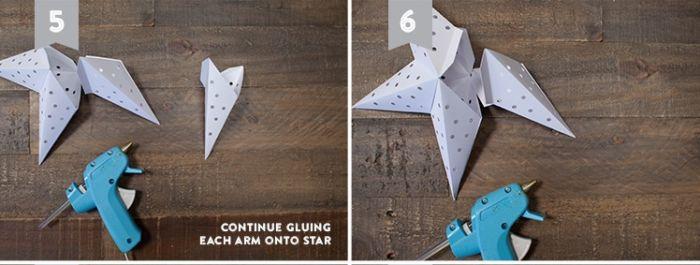 Собираем звезду из отдельных частей