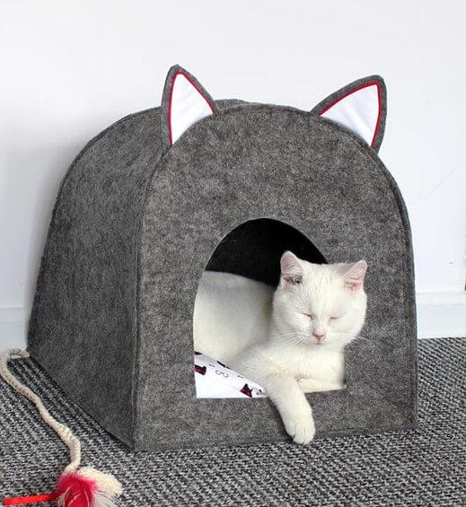 145Как сшить кошке домик своими руками фото пошагово