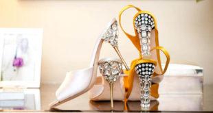 Украшаем каблуки стразами или дизайнерская обувь своими руками