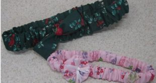 Текстильная повязка на голову для девочки своими руками