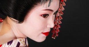 Японские канзаши — украшения для волос