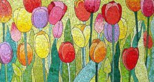 Мозаика из яичной скорлупы. Кракле