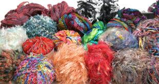 Декор из пряжи — многообразие ярких вариантов