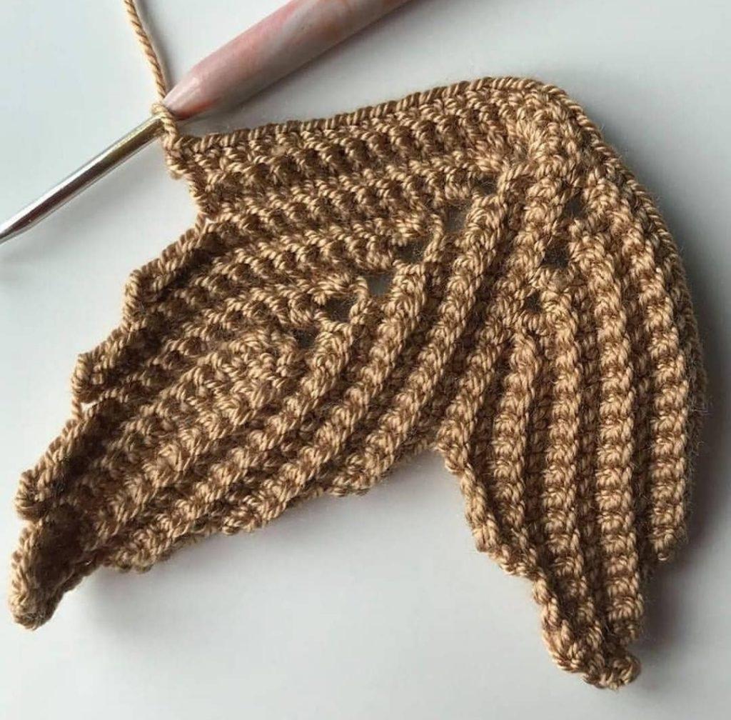 Тыква, вязанная крючком