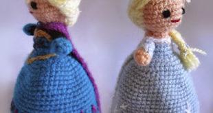 Кукла-перевёртыш Эльза из «Холодного сердца»