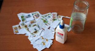 Оригинальная ваза «Почтовая марка» своими руками