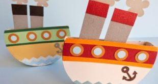 Мастерим игрушечную лодку