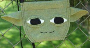 Йода — сумочка из фетра для фанатов Звездных войн