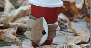 Держатель для кофе — лисичка