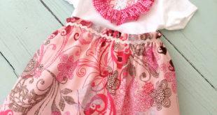 Платье для девочки из боди: швейная переделка